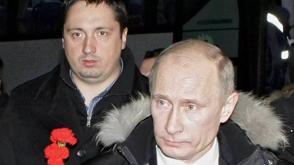 Foto: Shasha y Vladimir Putin.