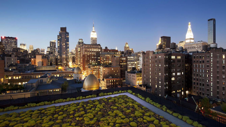 La expansi n de los green roofs los diez jardines urbanos for Jardines espectaculares