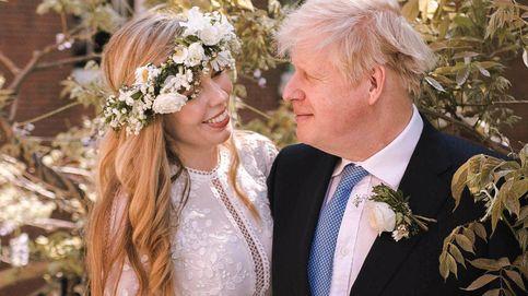 El vestido de Carrie Symonds en su boda secreta con Boris Johnson: boho y aire griego
