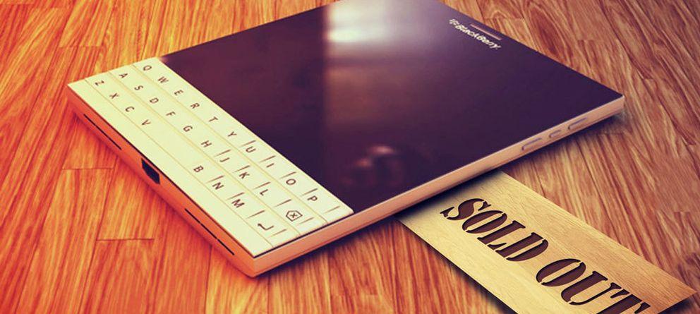Foto: BlackBerry gana la primera mano con su 'carta extravagante'