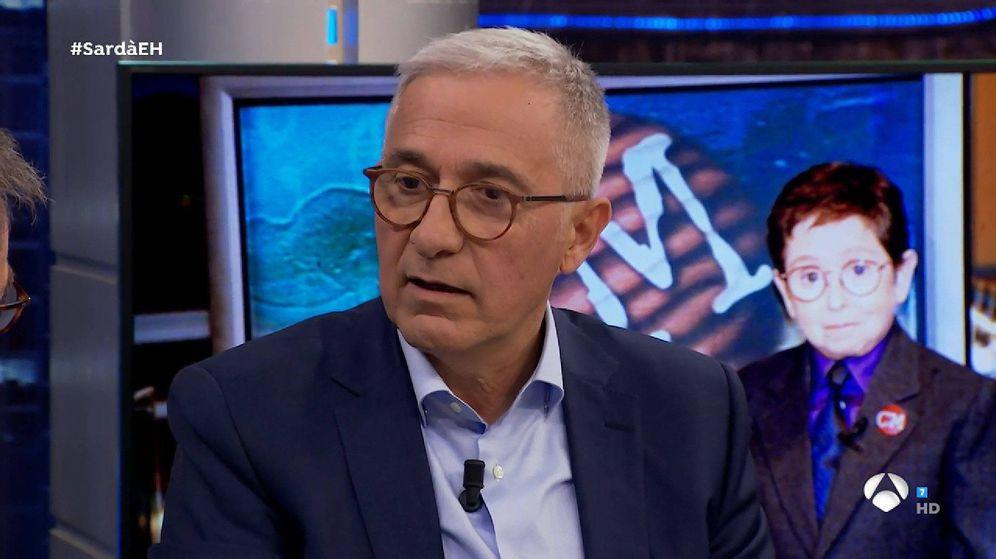 Foto: Xavier Sardá, en 'El Hormiguero'. (Antena 3)