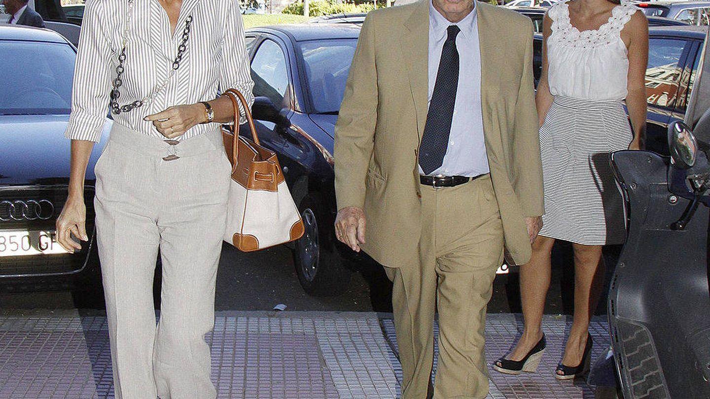 Isabel y Miguel, en 2010. (Getty)