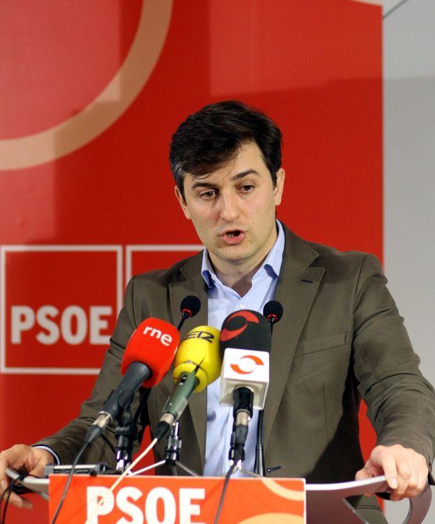 Foto: El cabeza de lista del PSOE a las elecciones municipales en Gijón, José María Pérez. (EFE)
