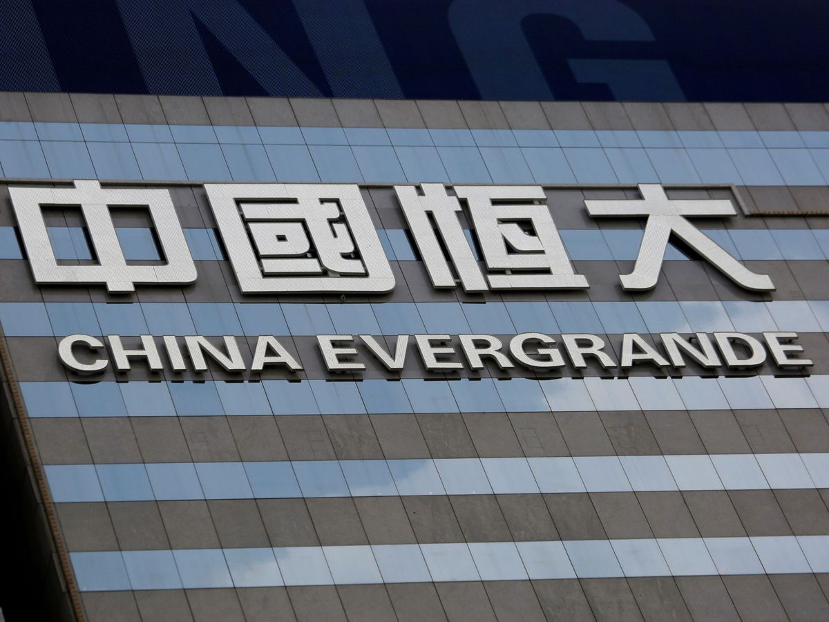 Foto: El logo de Evergrande. (Reuters)