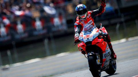 Lorenzo está de vuelta: victoria contundente en Montmeló por delante de Márquez