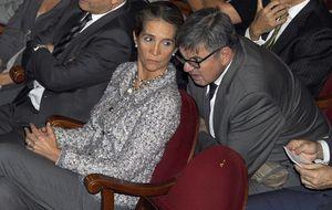 La salida nocturna de la infanta Elena junto a su exsecretario