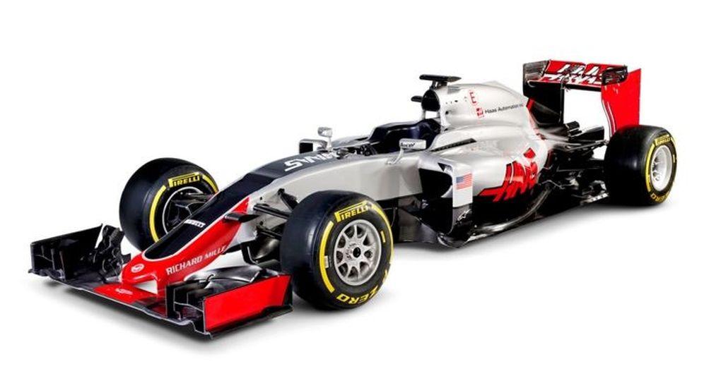 Foto: Así es el VF-16, el monoplaza de Haas para la presente temporada.