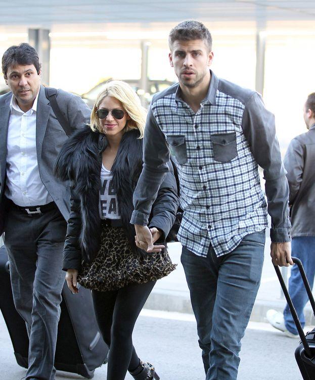 Foto: Shakira y Piqué en una imagen de archivo