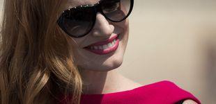 Post de Jessica Chastain usa el 'gif churro' de Terelu: el momento pre-Oscar más bizarro