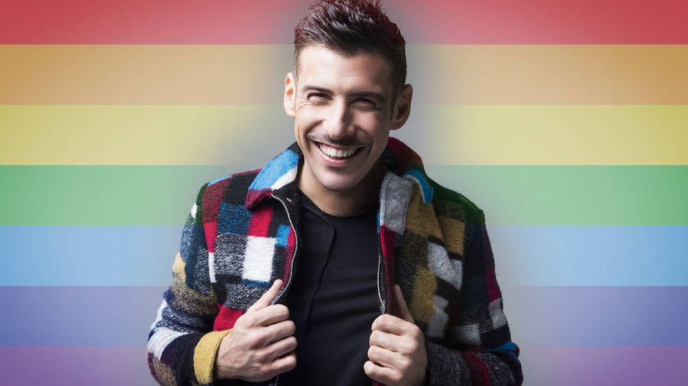 Foto: Francesco Gabbani (Italia) homenajea el colectivo LGTBI en Eurovisión 2017