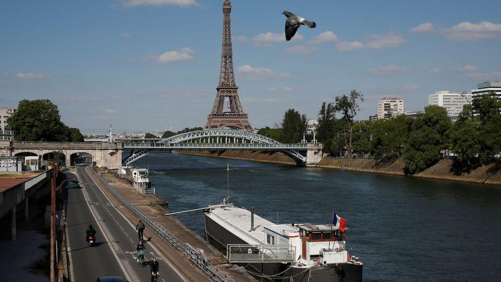 Foto: París, este jueves 14 de mayo. (Reuters)
