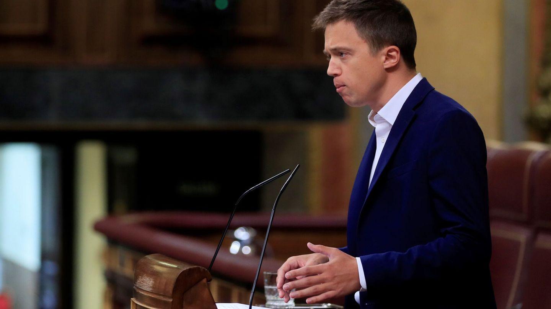 El diputado de Más País, Íñigo Errejón. (EFE)