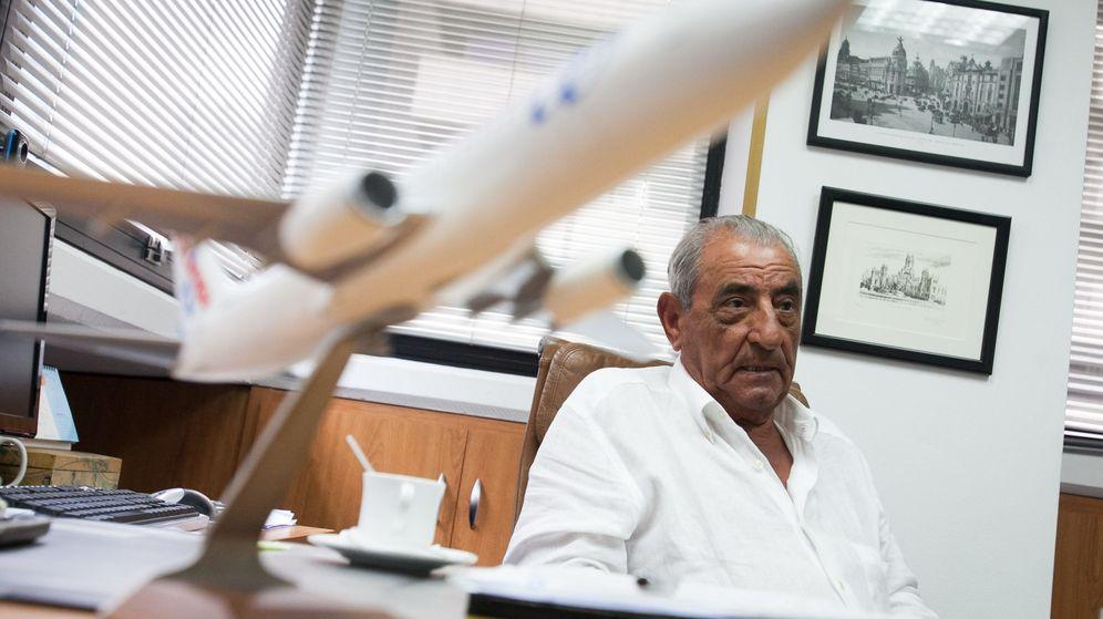 Foto: El presidente de Globalia, Juan José Hidalgo. (EFE)