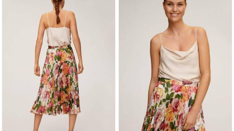 La falda de Mango que nos ha enamorado (Cortesía)
