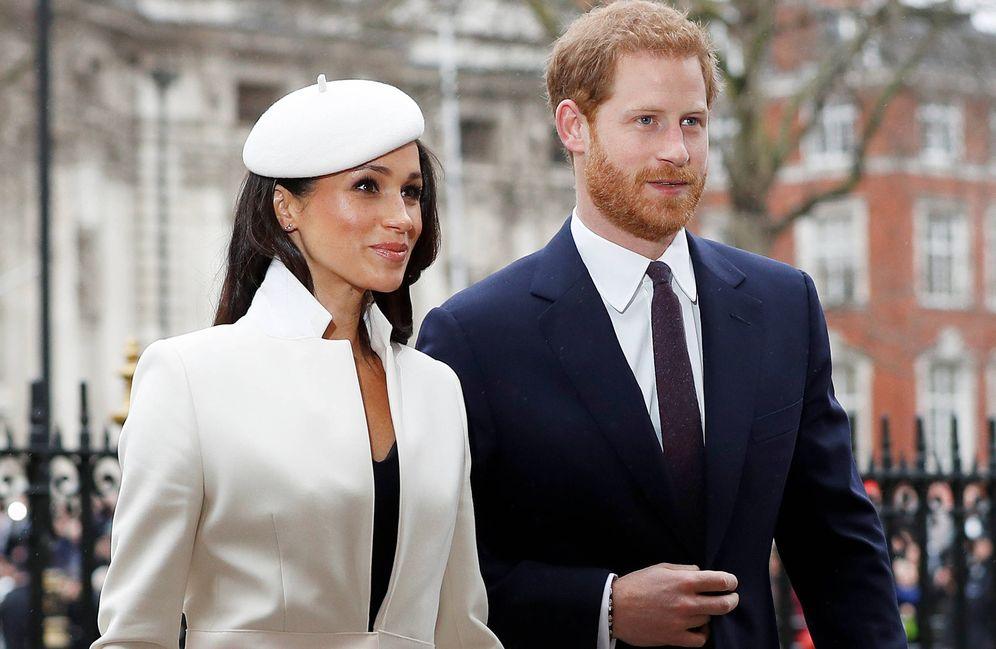 Foto: Harry y Meghan en una imagen reciente.(REUTERS)