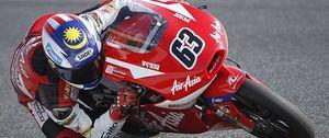 Zulfahmi Khairuddin hace historia y logra el mejor tiempo en Moto3
