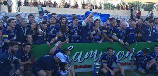 Post de El Quesos Entrepinares suma un nuevo título de liga y hace historia en el rugby español