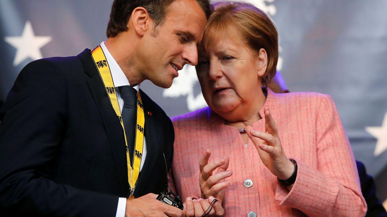 Merkel y Macron abren la precampaña de un frente pro-UE con pies de barro