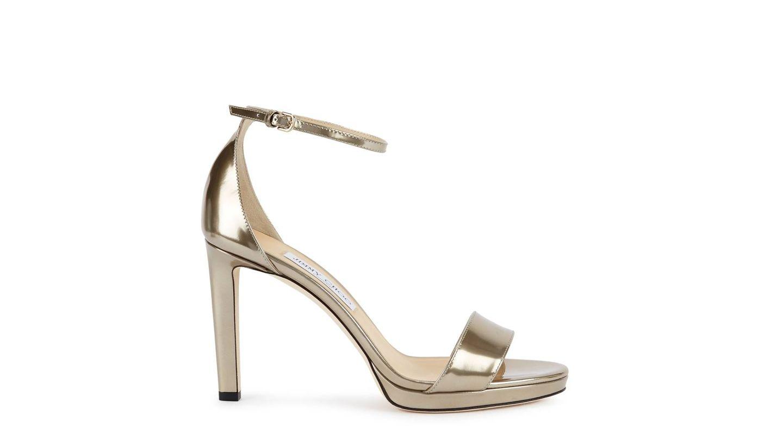 Las sandalias de Jimmy Choo.