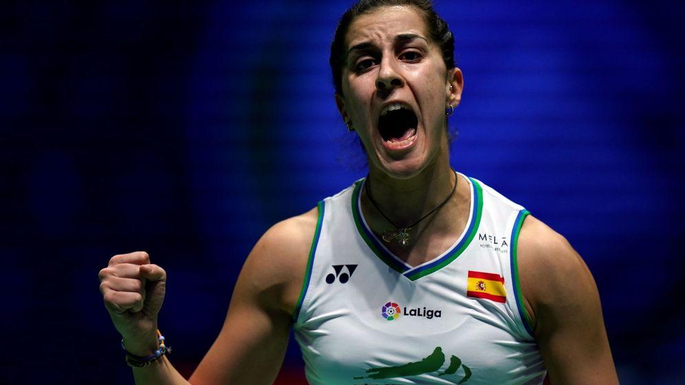 Foto: Carolina Marín quiere volver a las pistas para olvidar estos meses duros por los que ha pasado. (EFE)