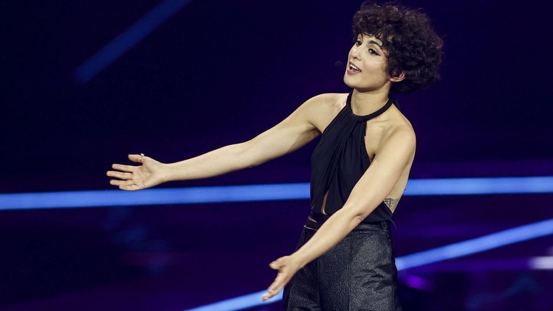 Barbara Pravi, representante de Francia en Eurovisión 2021. (Agencia EFE)