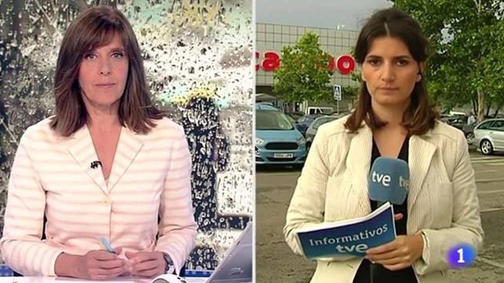 Una reportera de TVE sale corriendo tras un error: Lo he hecho mal, joder
