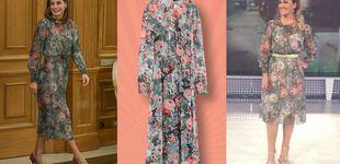 Post de El look más aplaudido de Letizia, ¿inspirado por Carlota Corredera?