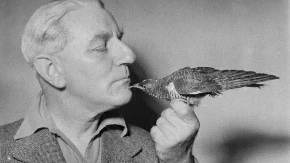 Foto: El agente del MI5 en su faceta como naturalista.