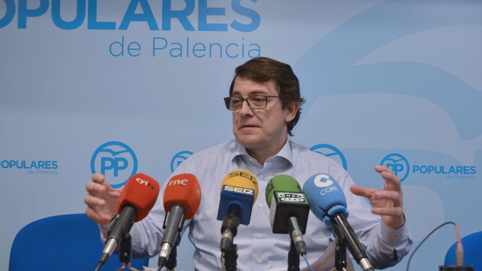 Foto: Alfonso Fernández Mañueco. (EFE)