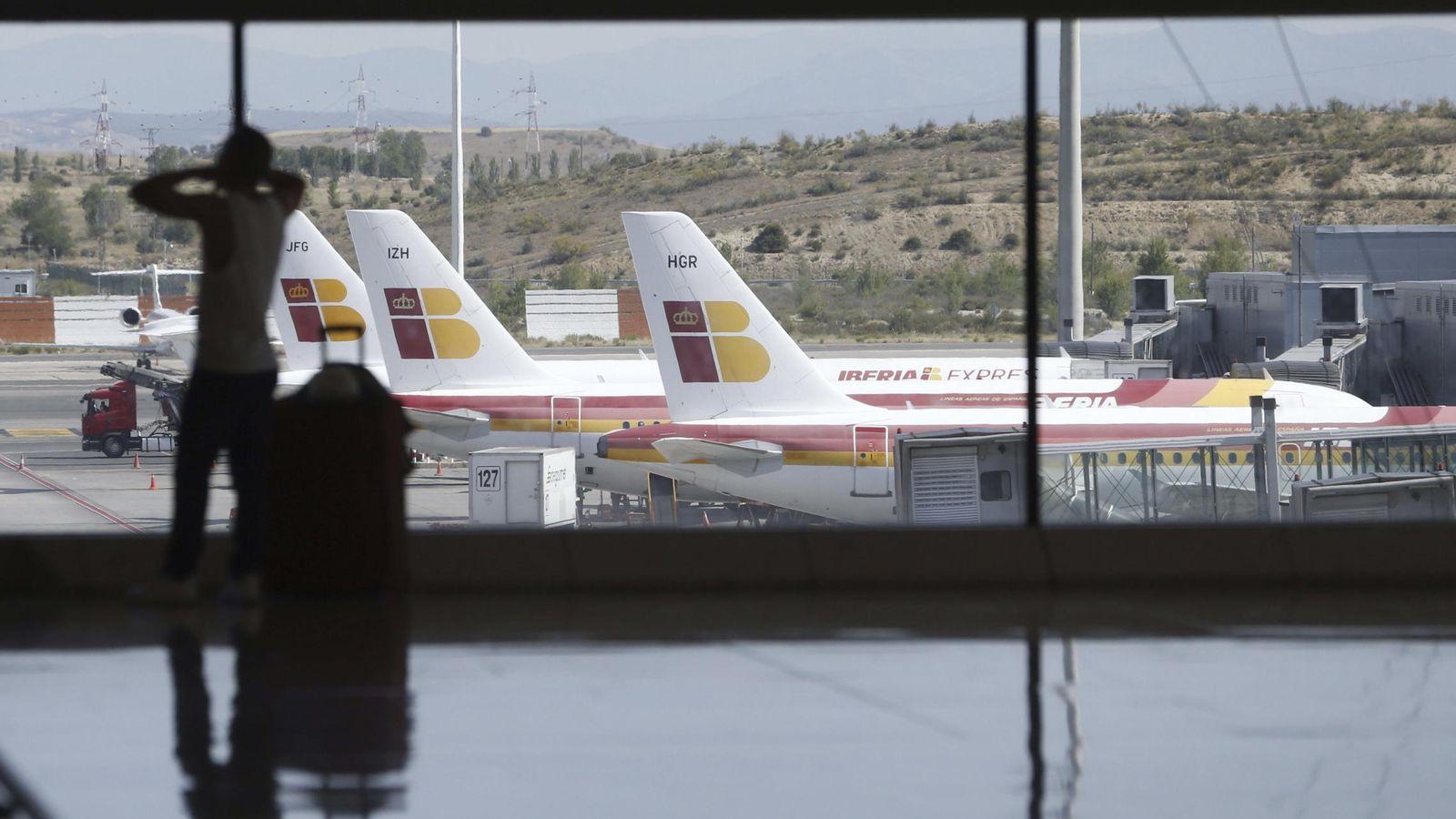 Foto: Los paros de controladores aéreos podrían afectar a 5.300 vuelos en España. (EFE)