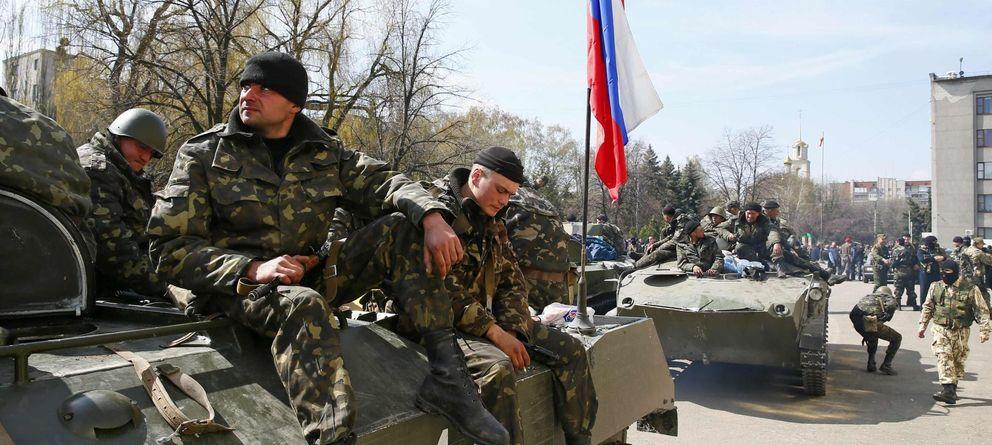 Foto: Los rebeldes humillan la operación antiterrorista lanzada por Kiev