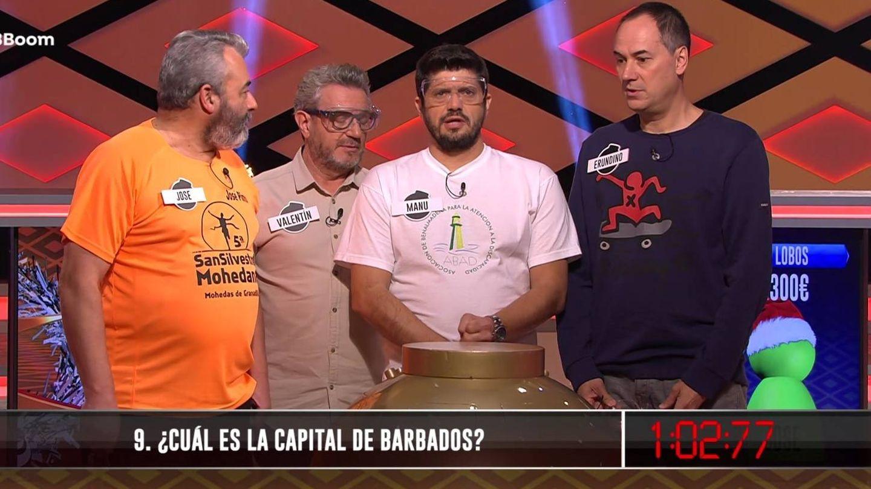'Los Lobos', en '¡Boom!', con José Pinto. (Atresmedia Televisión).