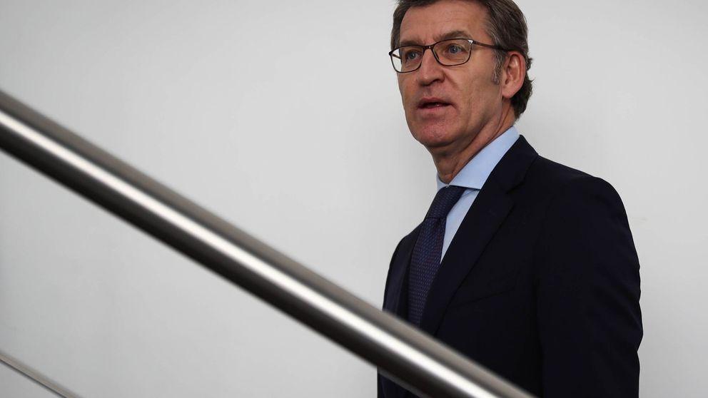Feijóo mantiene su negativa a la coalición con Cs tras su conversación con Arrimadas