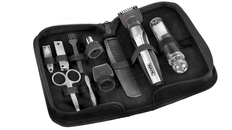 Foto: Cortaúñas, tijeras para uñas, peine, lima, pinzas de depilación, cepillo de dientes... El kit incluye todo lo que el hombre moderno y elegante demanda.