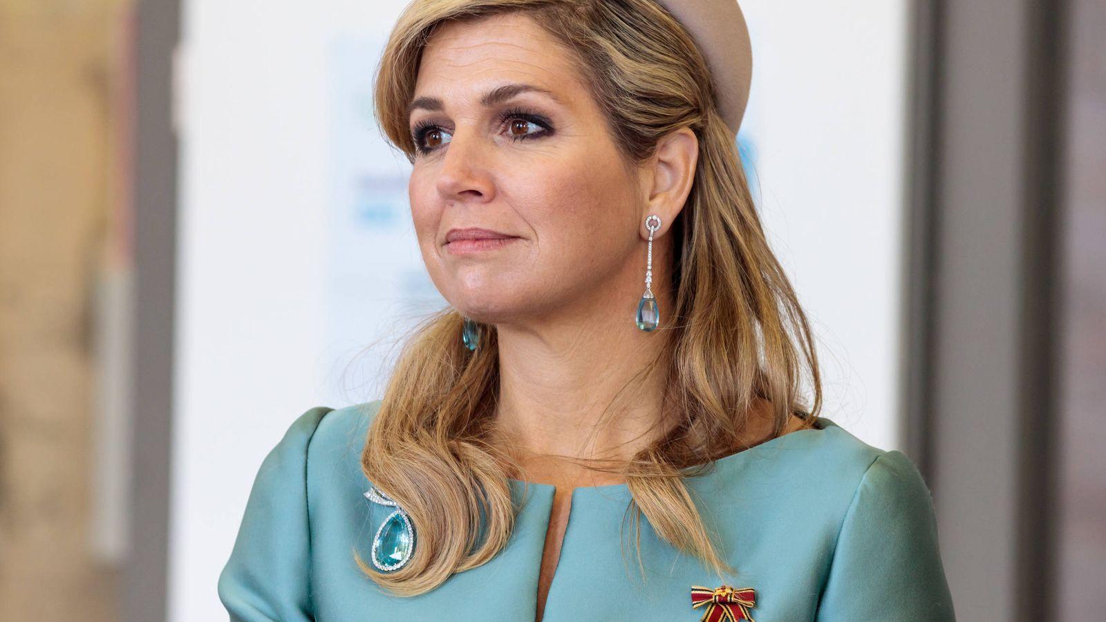 Foto: La reina Máxima en una imagen de archivo. (Getty)
