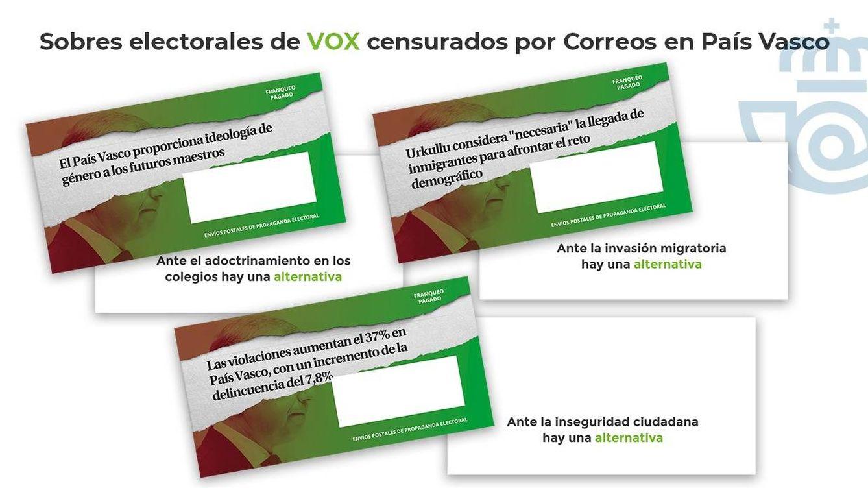 La JEC da la razón a Vox: ordena a Correos distribuir de inmediato su propaganda