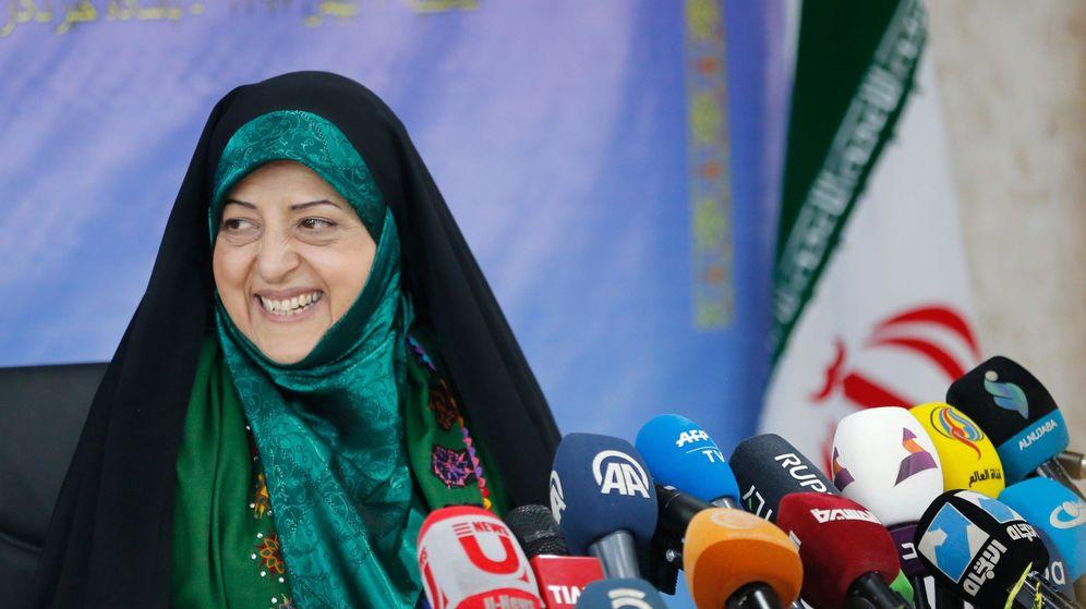 Foto: La vicepresidenta iraní para la mujer y asuntos de familia. (EFE)