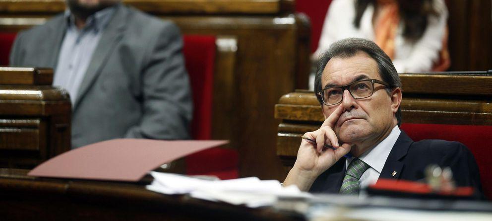 Foto: Artur Mas, durante una sesión del Parlamento de Cataluña. (Reuters)
