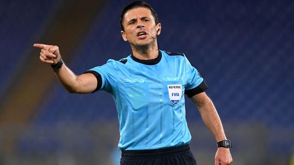 Foto: Milorad Mažić, durante un encuentro de la Champions | Reuters
