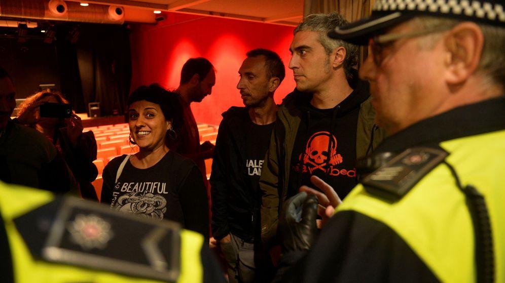 Foto: Anna Gabriel ha desafiado este viernes a la Justicia en Vitoria al dar una charla a favor del 1-O que había sido prohibida. (Reuters)