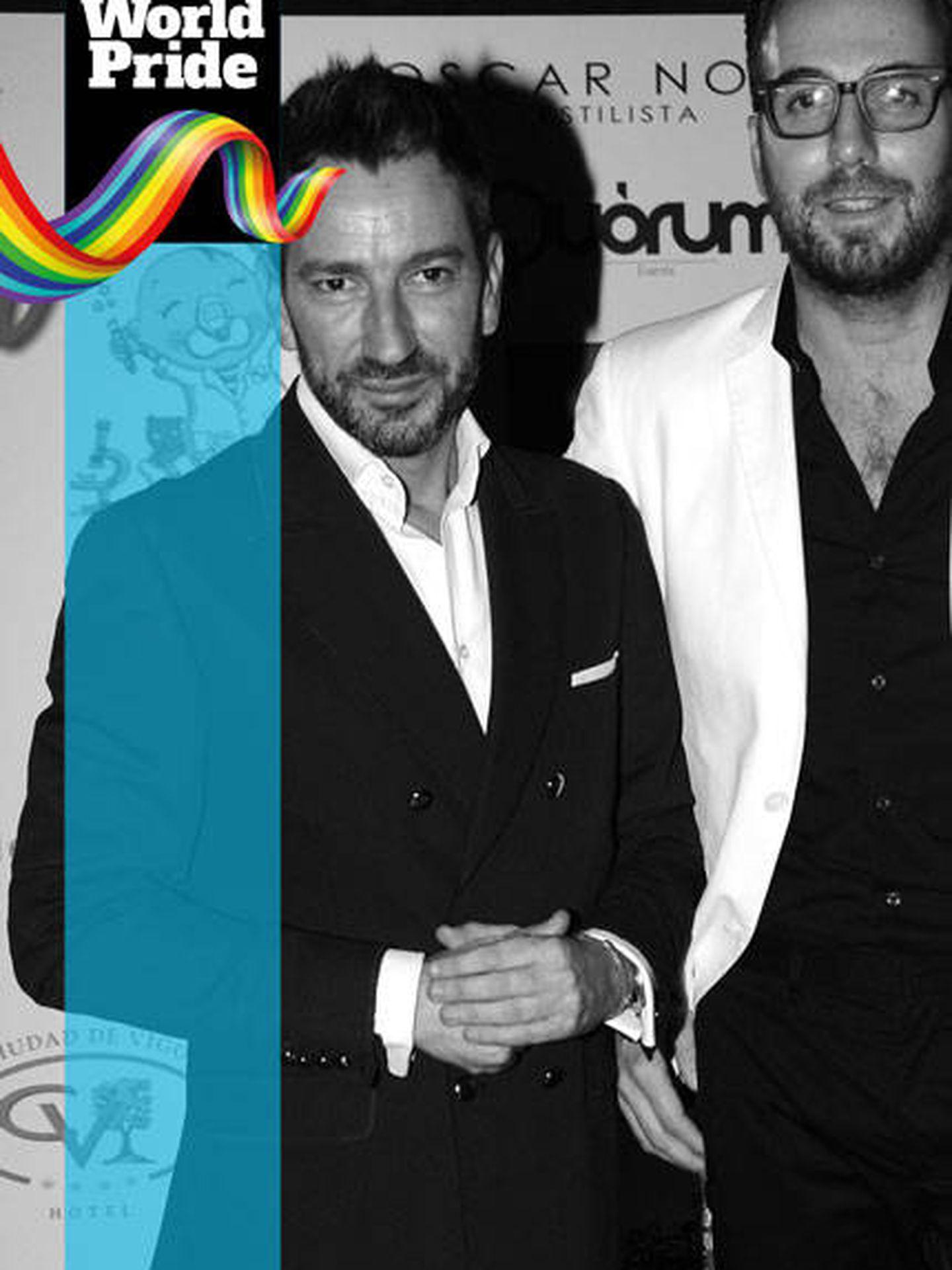 Orgullo LGTBI 2017: Raúl Prieto y David Valdeperas.
