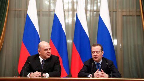 Mishustin recibe el testigo de Medvédev y prepara el gobierno ruso de transición