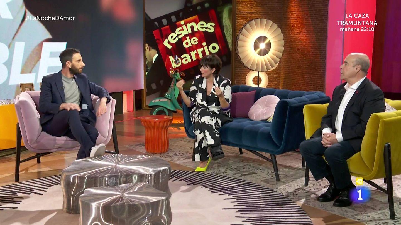 Dani Rovira y Antonio Resines, en 'La noche D'. (TVE)