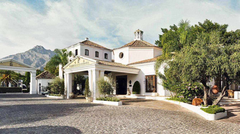 Foto: Entrada del Marbella Club.