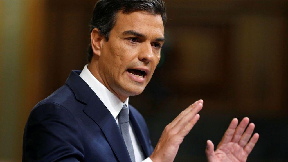 Sánchez ataca a Rajoy, le reitera el no rotundo y califica de chantaje su oferta