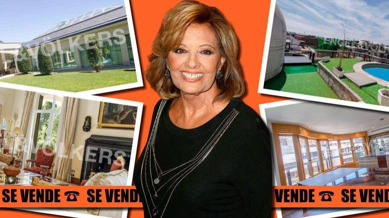 La ilusión de María Teresa Campos: vender su casoplón de 4,5 millones en Madrid