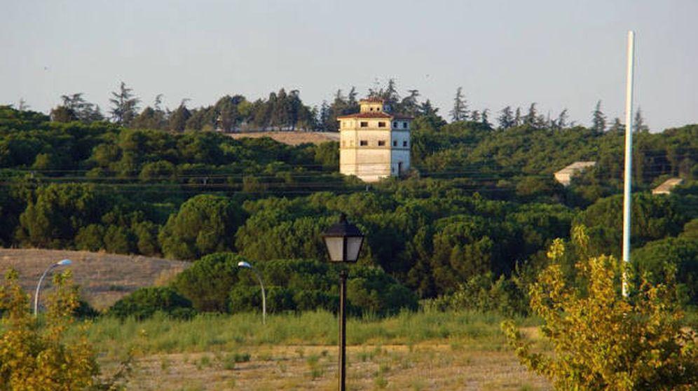 Foto: Vista desde la carretera de la finca Valdelasfuentes, en Arroyomolinos.