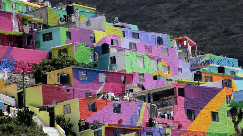 Foto: Barrio de Palmitas en México. (EFE)