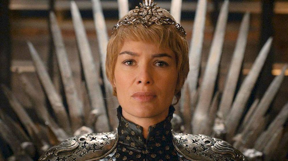 Foto: Cersei en el Trono de Hierro. (HBO)