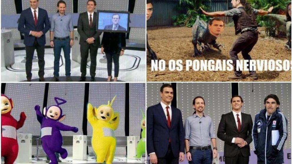 Aquí tienes los mejores memes del debate a cuatro de Antena 3